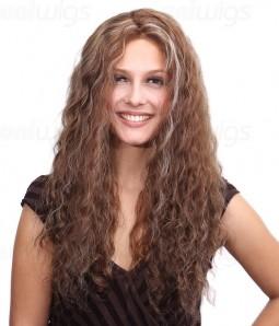 Linzi Remy Human Hair Lace Front/Mono Glueless Wig