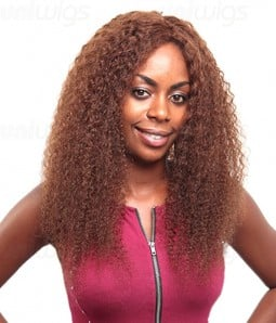 Custom Jerry Curl 100% Remy Human Hair Lace Wig