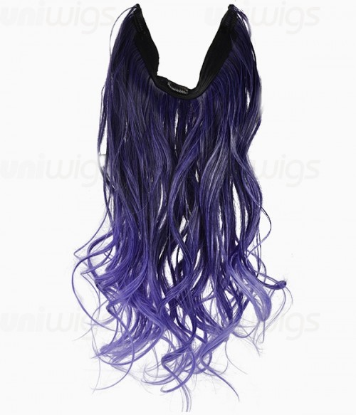 20 ombre purple wave heat friendly synthetic flip clip in hair 20 ombre purple wave heat friendly synthetic flip clip in hair extension pmusecretfo Image collections