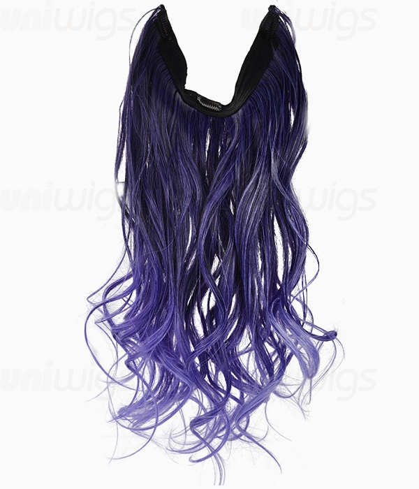20 ombre purple wave heat friendly synthetic flip clip in hair 20 ombre purple wave heat friendly synthetic flip clip in hair extension uniwigs official site pmusecretfo Images