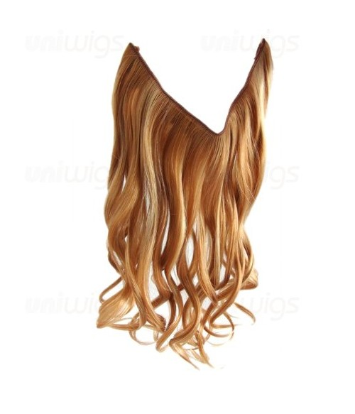 "14"" Wave Synthetic Flip In Hair Extension E51004-Y-24"