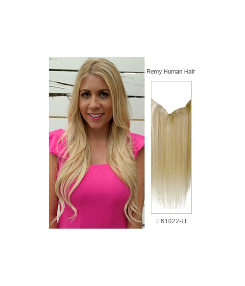 22 Straight Remy Human Hair Flip In Extension
