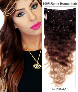 Hair extensions best human hair extensions uniwigs 20 triple ombre color 9 pieces body wave clip in indian remy human hair extension pmusecretfo Choice Image
