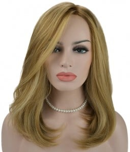 Anne Synthetic Lace Front/Mono Wig