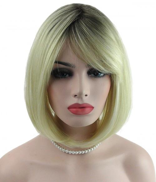 Qearl Synthetic Mono Top Wig