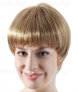 Meg Synthetic Mono Wig