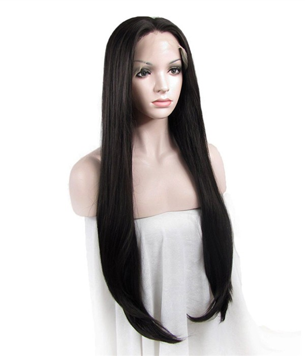 Middle Part Lace Front Wigs Remy Human Hair U Part Lace Front Wigs Uniwigs