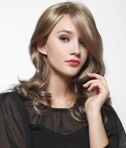 Nicole Synthetic Lace Front/Mono Wig
