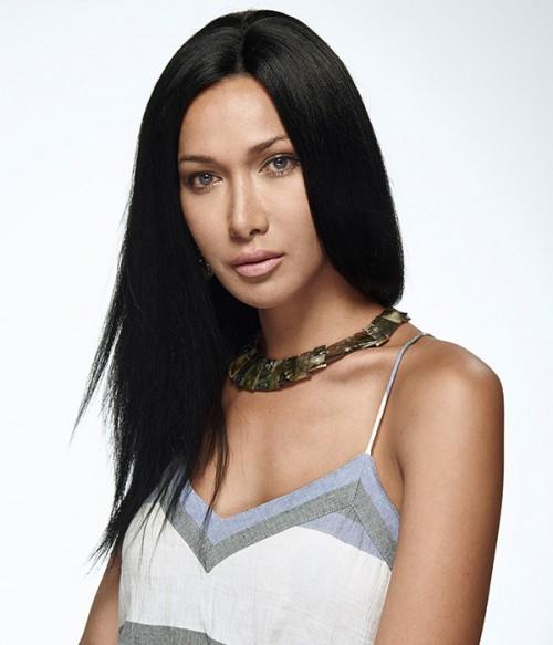 Custom Yaki Straight 100% Remy Human Hair Lace Wig