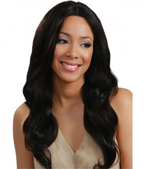 Custom Loose Wave Remy Human Hair  Lace Wig