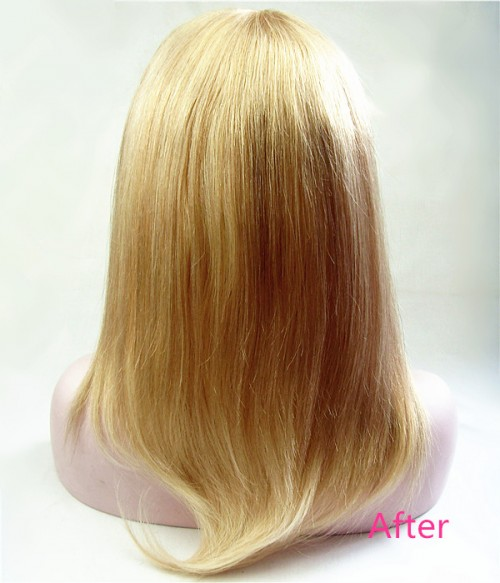 Paris Remy Human Hair Top Piece