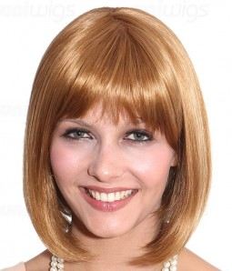 Jessie Synthetic Lace Front/Mono Wig