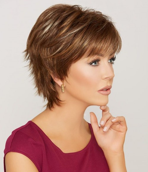 Color: #16 Chocolat Caramel| Dark Mahogany Brown Highlight with Golden Blonde & Copper Brown