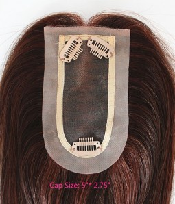 Upgrade Charm Remy Human Hair Top Hairpiece
