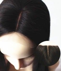 "4""x4"" Wavy Brazilian Remy Human Hair Silk Top Closure"