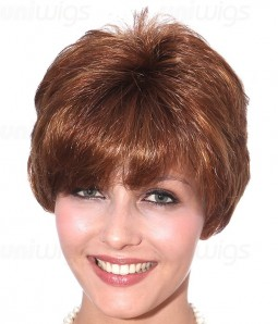 Annete Synthetic Lace Front Wig