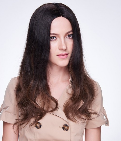 Victoria Justice Long Straight Indian Remy Human Hair Full Lace Wig LCF007