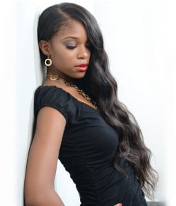 """Micha Loose Wave 18"""" Indian Remy Full Lace Wig"""