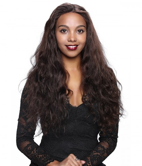 Body Wave 100% Indian Remy Human Hair Silk Top Glueless Full Lace Wig