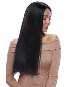 Straight Remy Human Hair Lace Front Wig