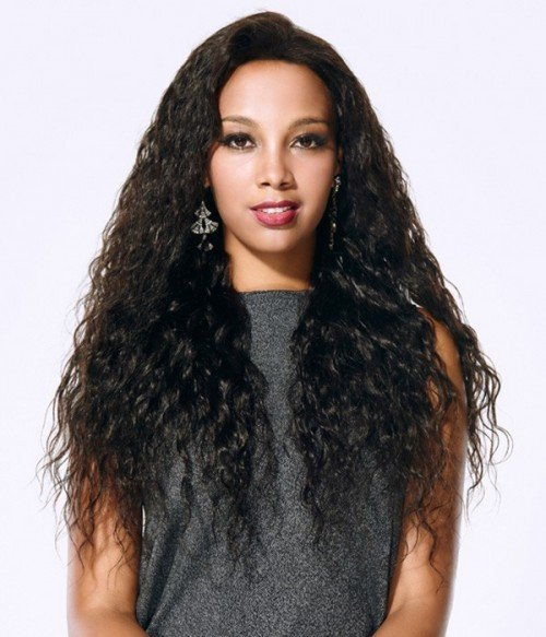 "Layla Natural Wave 20"" Indian Remy Human Hair Full Lace Wig"