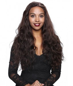 Wave 100% Indian Remy Human Hair Glueless Full Lace Wig