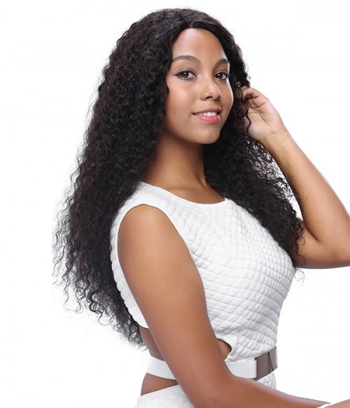 Wavy 100% Indian Remy Human Hair Silk Top Full Lace Wig