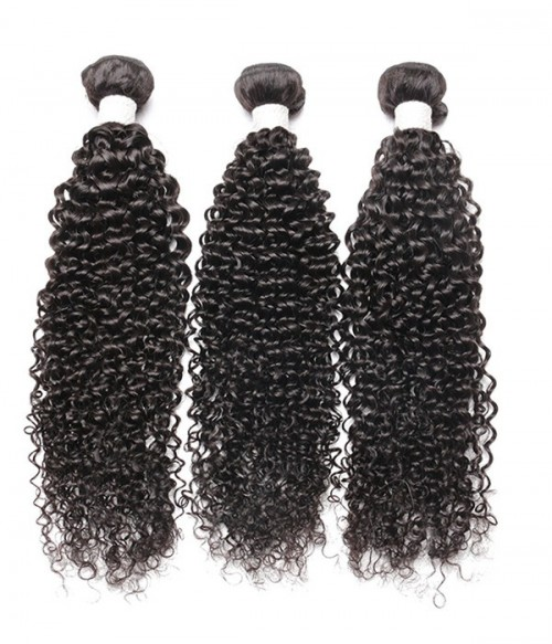 Virgin Remy Human Hair Kinky Curly Weft Ali Queen Collection by UniWigs