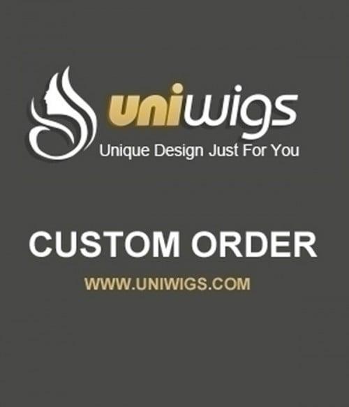 UniWigs Custom Order-AA428
