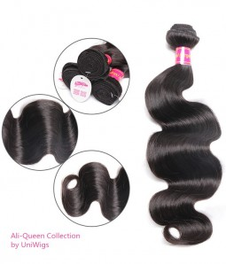 Body Wave Brazilian Remy Human Hair Weave