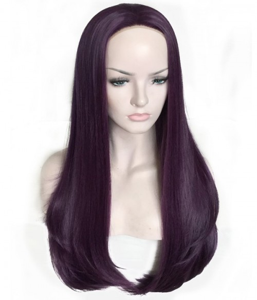Mulberry Synthetic Lace Front Wig