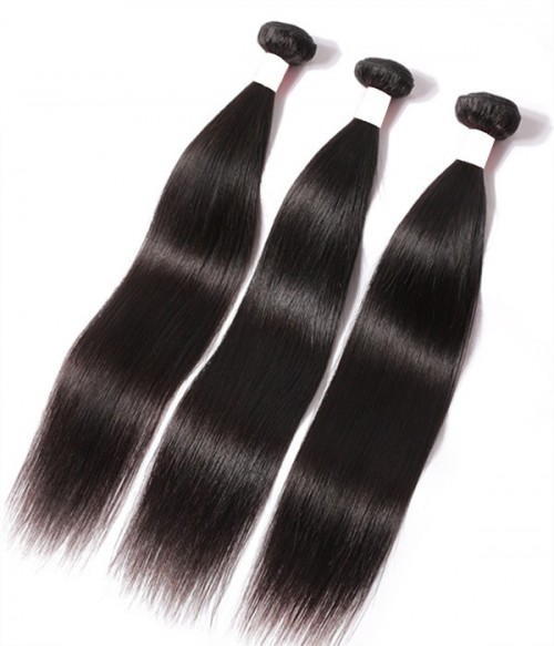 Unprocessed Straight 6A Malaysian Virgin Human Hair Weave