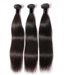 3 Bundles Straight Virgin Remy Hair Weave