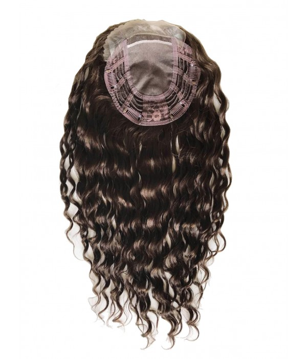 Upgrade claire curly wave virgin remy human hair topper 66 upgrade claire wave remy human hair topper solutioingenieria Gallery