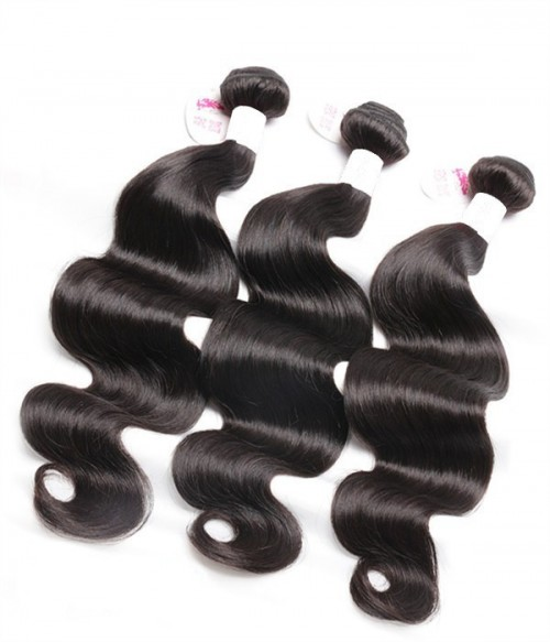 Unprocessed Body Wave 6A Malaysian Virgin Human Hair Weave