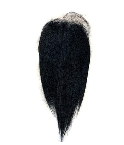 "6""x6"" Charleigh  Straight Remy Human Hair Lace Hair Topper"