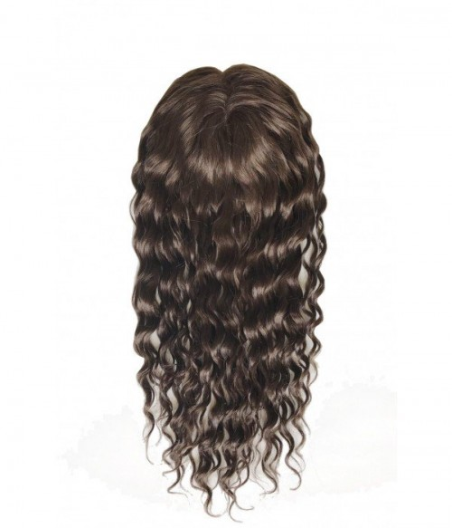 Kelly Human Hair Lace Hair Topper