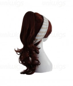 Laurel Synthetic Clip Ponytail