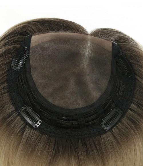 6*6.5 Elizabeth Synthetic Mono Hair Topper