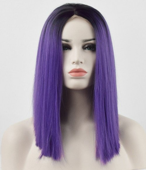 Tonya Synthetic Lace Front Wig-Plum Kissed