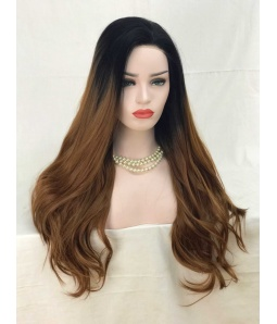 Sweety Futura Synthetic Lace Front Wig - Hot Mocha Latte