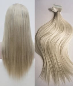 Clip in hair extensions best hair extensions clip in uniwigs uniwigs silk straight 200g 20 ash blonde remy human hair clip in hair extensions pmusecretfo Choice Image