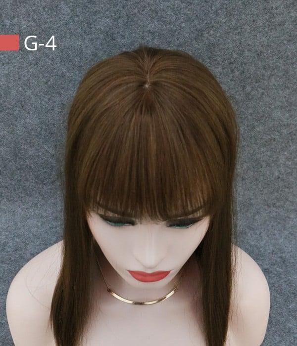 66 amber silk top virgin human hair topper with bangs uniwigs 66 amber silk top virgin human hair topper solutioingenieria Images