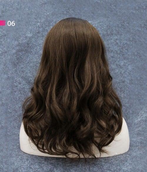 06 Light Brown | Natural Shade of Light Brown,darker than human hair