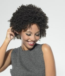 Afro Curl Human Hair Lace Wig|Clearance