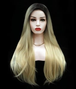 Angelia Synthetic Lace Front Wig-Straight Version