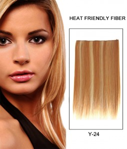 "20"" Straight Synthetic Miracle Wire Uni-Hair Extension E52001-Y-24