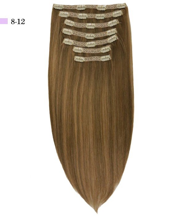 Audrey 7 Piece Clip In Superior Remy Human Hair Extensions Uniwigs