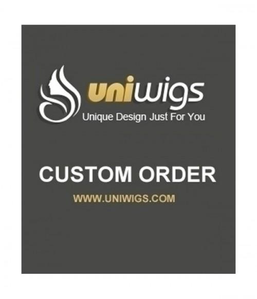 UniWigs Custom Order-AA765