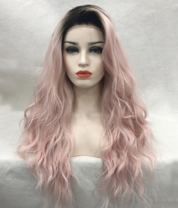 Rose Diva - Pale Pink - Loose Curl